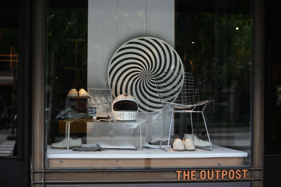 barcelona fashion week, best fashion in barcelona, window shop design